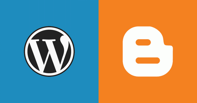 Wordpress,blogger