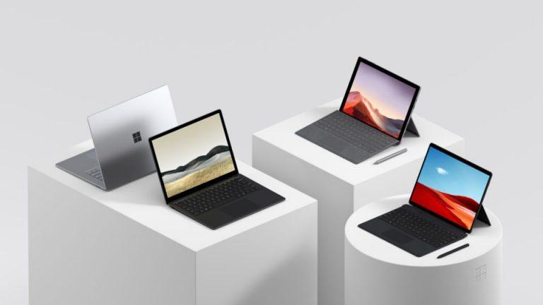 Microsoft  ไทยเผย ราคา Surface Pro 7 , Surface Laptop 3