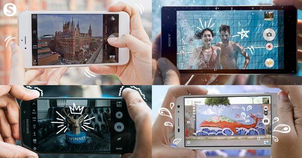 สมาร์ทโฟน ถ่ายรูปสวย 2020